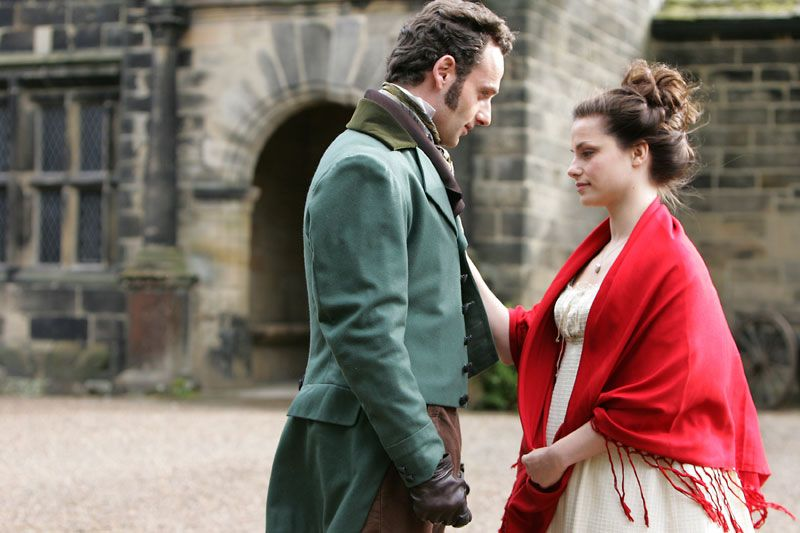 andrew lincoln and rebecca night as edgar linton and daughter wuthering heights acircmiddot andrew lincoln and rebecca night as edgar linton and daughter catherine 2009
