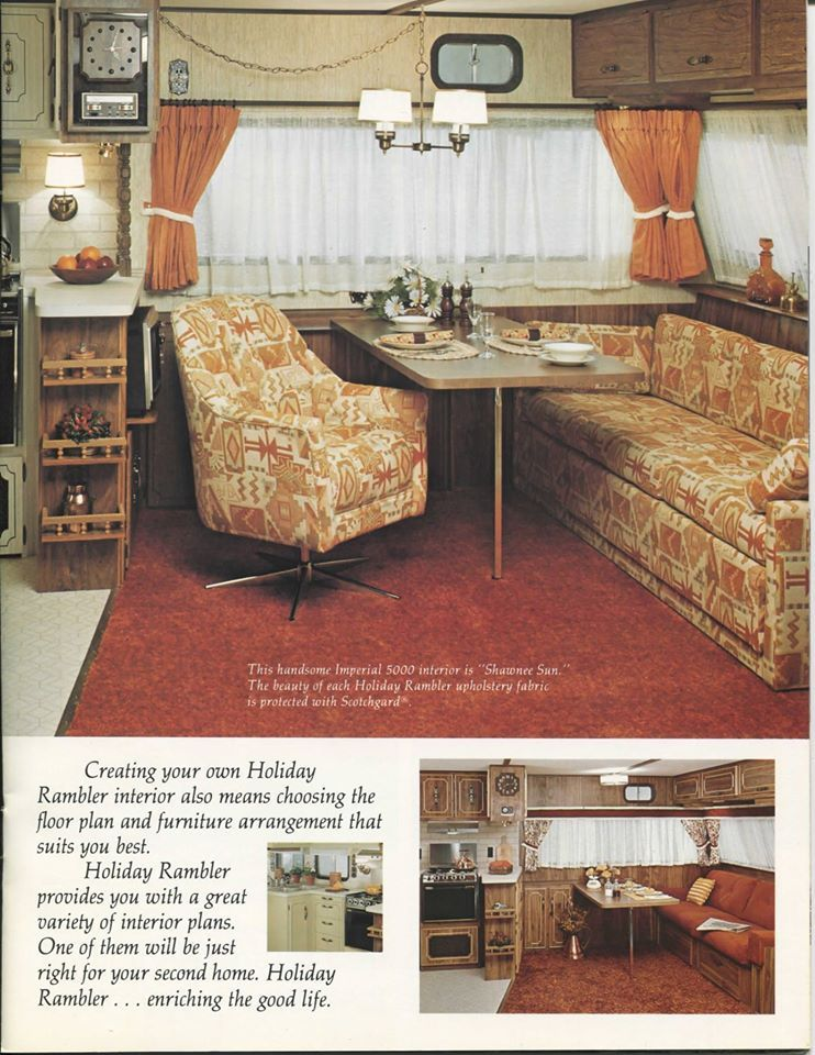 1977 Holiday Rambler | Camping | Remodeling mobile homes ... on mississippi state housing floor plans, 18' wide mobile home plans, shultz homes floor plans, redmond mobile homes floor plans,
