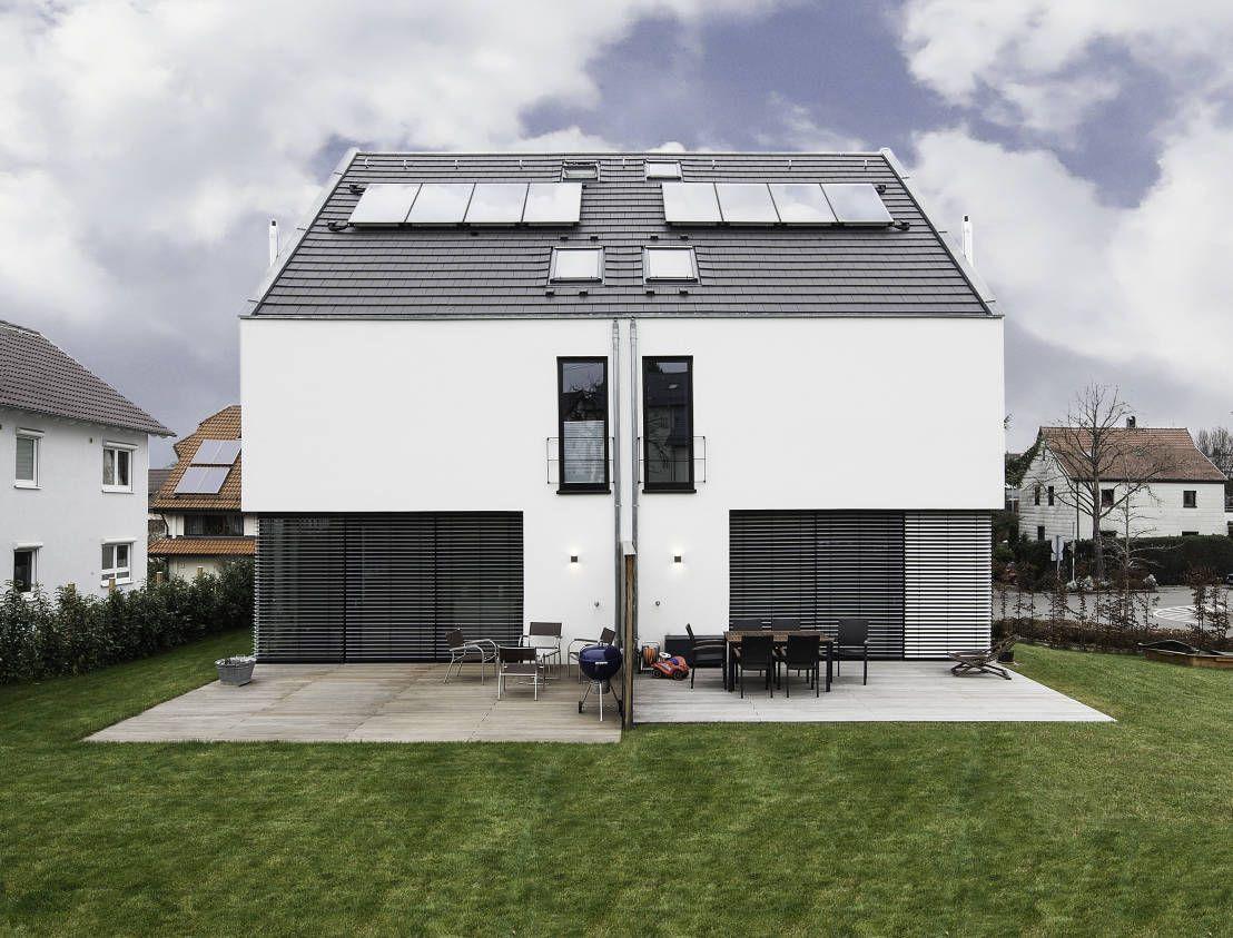 Das doppelte h uschen der traum erf llt und jungs for Doppelhaus moderne architektur