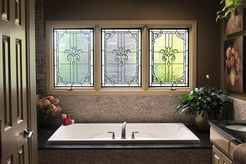 Since Stained Glass Can Be Made To Fit Any Shaped Window, Itu0027s A Truly  Custom