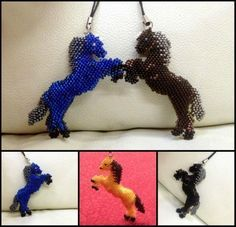"""Scheme keychain """"Horse"""" 
