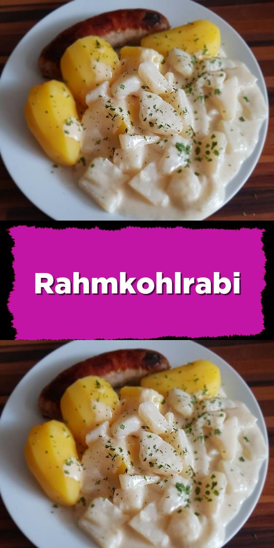 Photo of cremiger Kohlrabi –  Cremiger Kohlrabi. Über 48 Bewertungen und fand lecker. Mi…