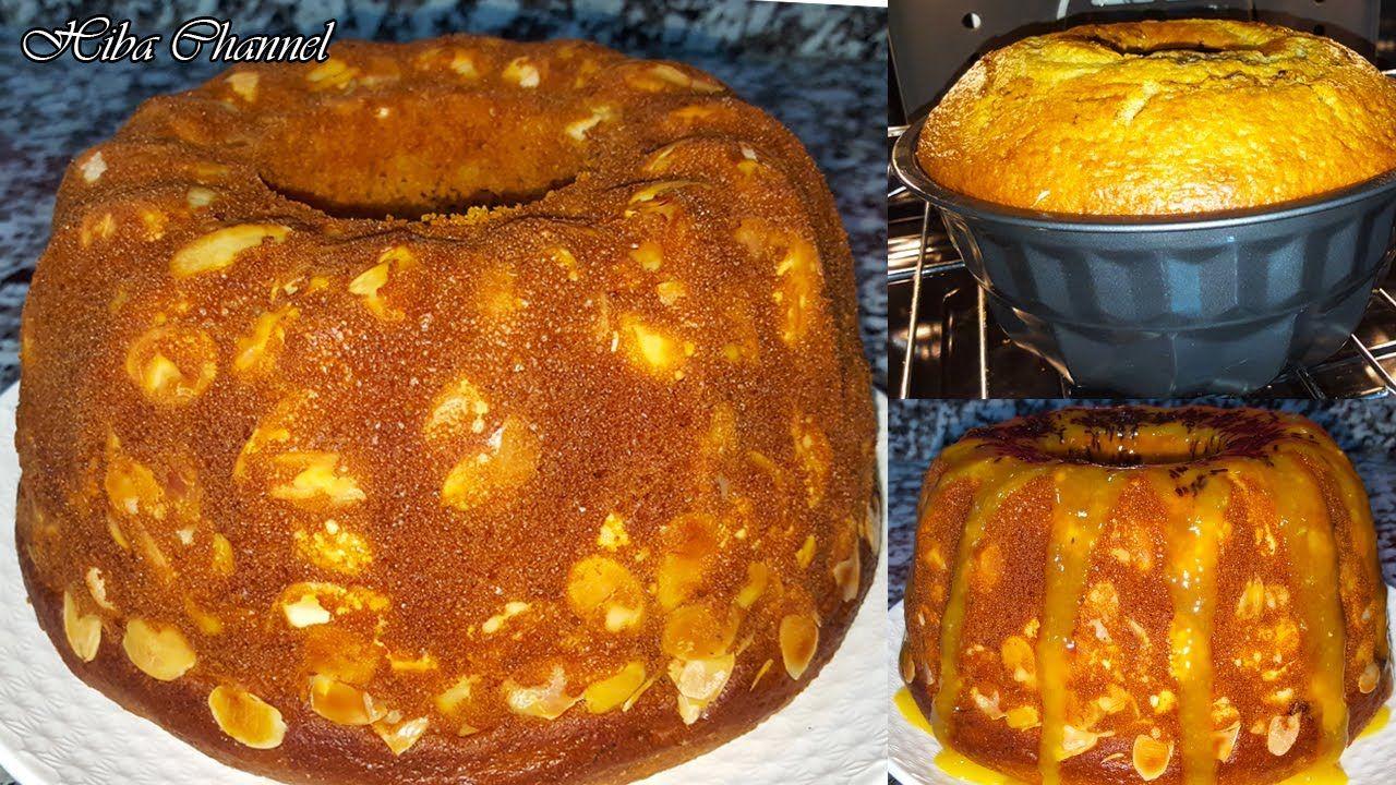ضيفي نفس المكون لكيك يومي ناجح 100 كيخليه طالع مع صلصة روعة بالمندرين Eid Cake Cooking Food