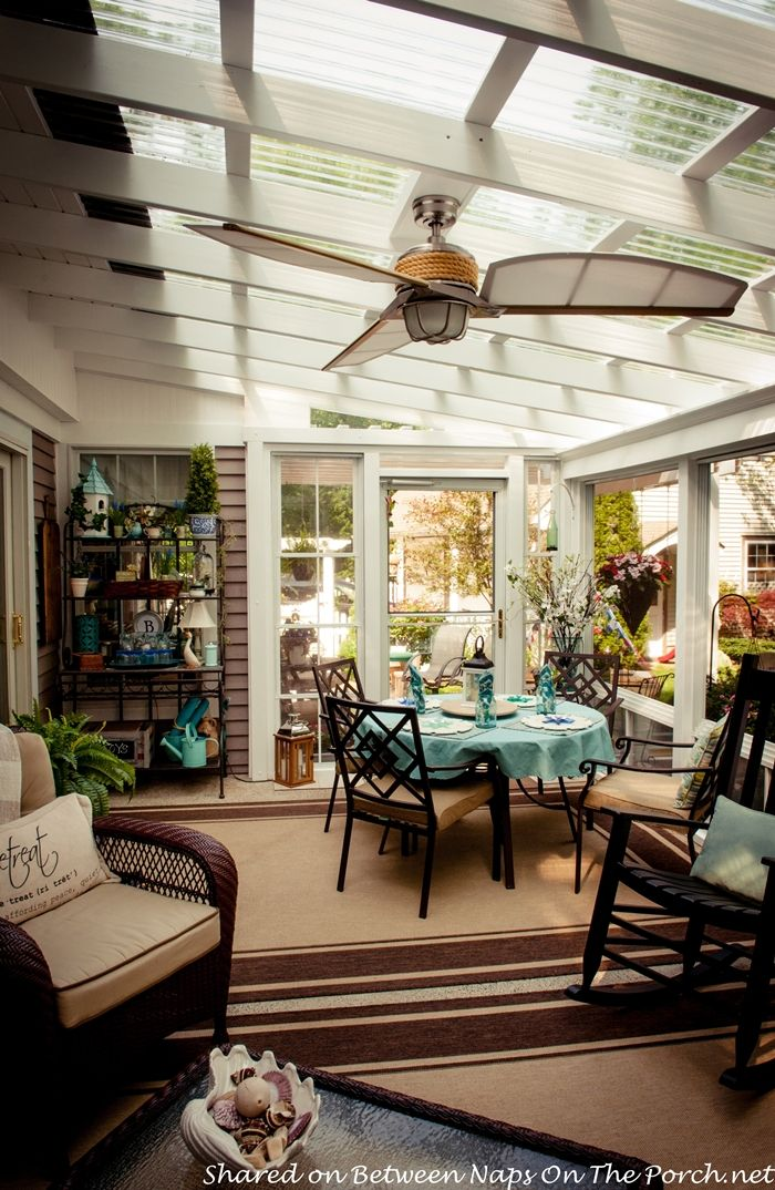 An Ordinary Patio Becomes A Beautiful Three Season Porch