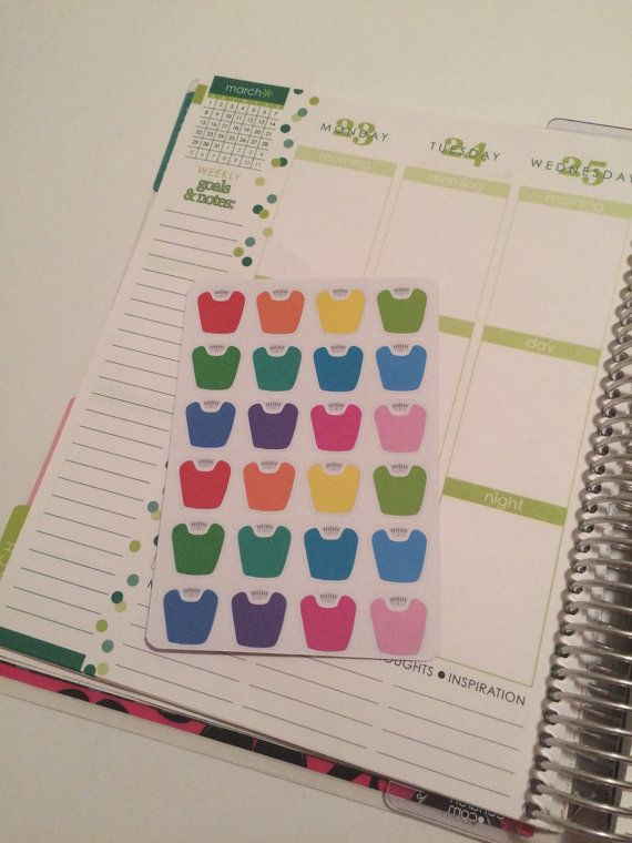 Scale Stickers for your Erin Condren Life Planner, Plum Paper Planner, Filofax, and more!