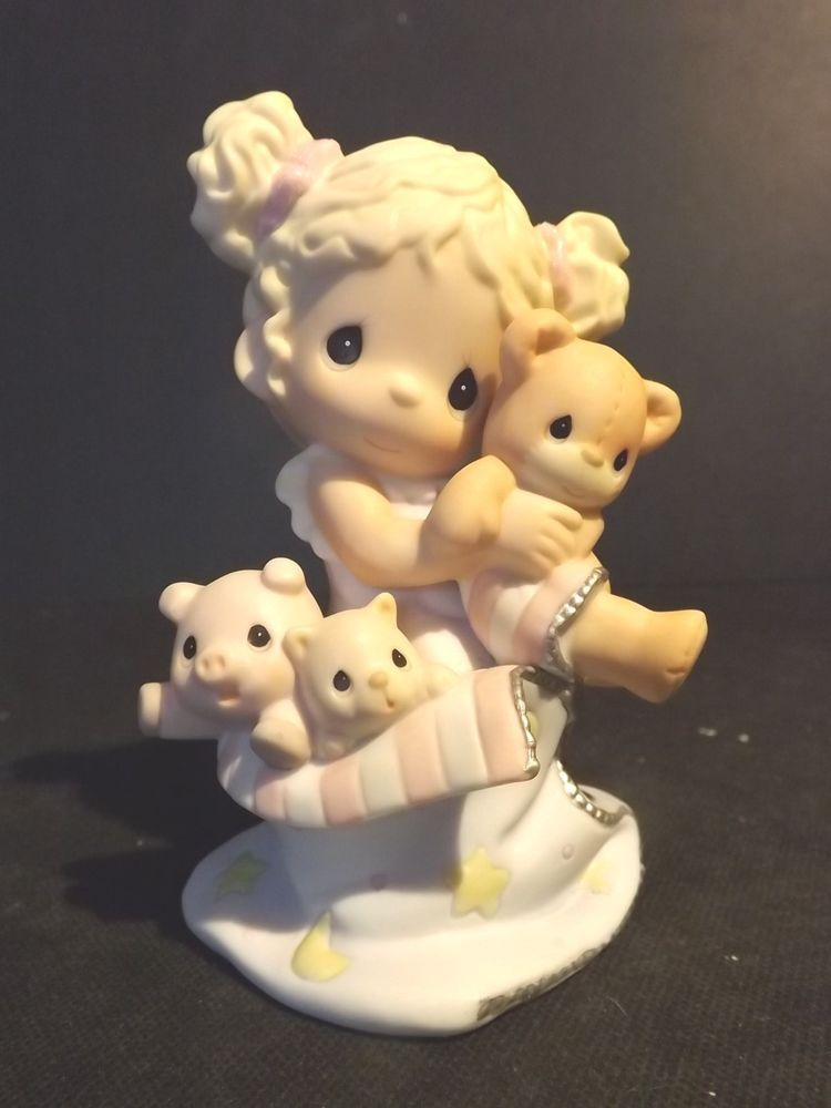 "PRECIOUS MOMENTS ""NEVER TOO YOUNG FOR SLEEPOVER FUN"" CLUB EXCLUSIVE -#FC-051 NIB"