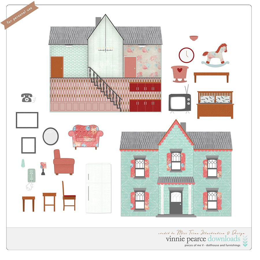 Paper Doll House, Paper
