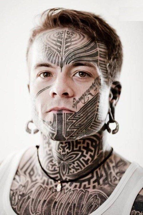 2a7ed9caa 20 Awesome Face Tattoo Designs | My style/mods | Face tattoos, Tattoo  designs men, Facial tattoos