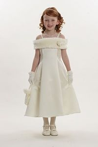 Winter Wedding Flower Girl Dress - Bing Images
