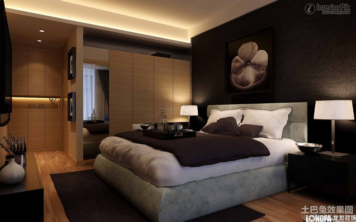 modern master bedroom decorating ideas photos - Contemporary Bed Rooms