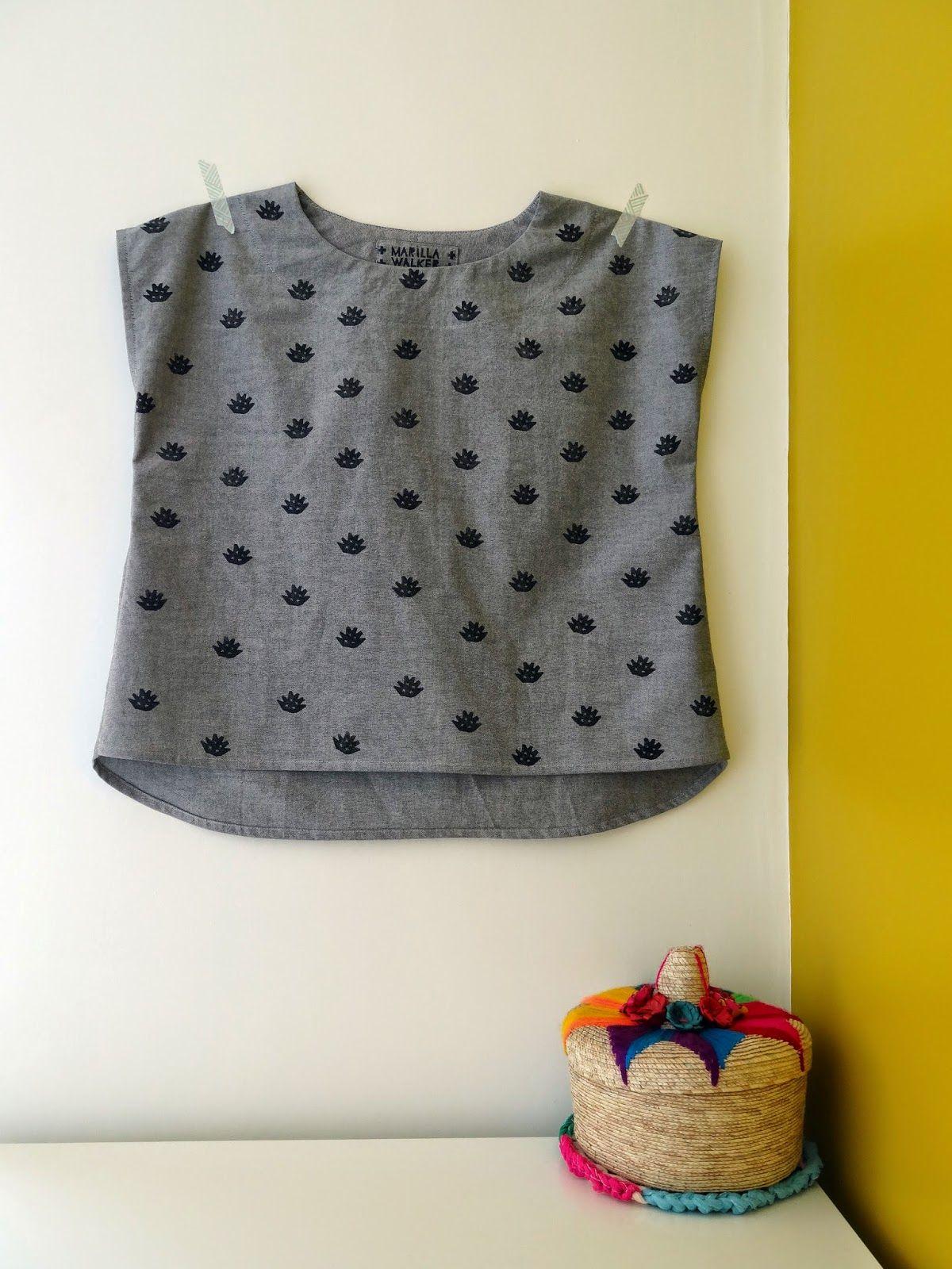 Cute Maya top by Marilla Walker | sewing for me | Pinterest