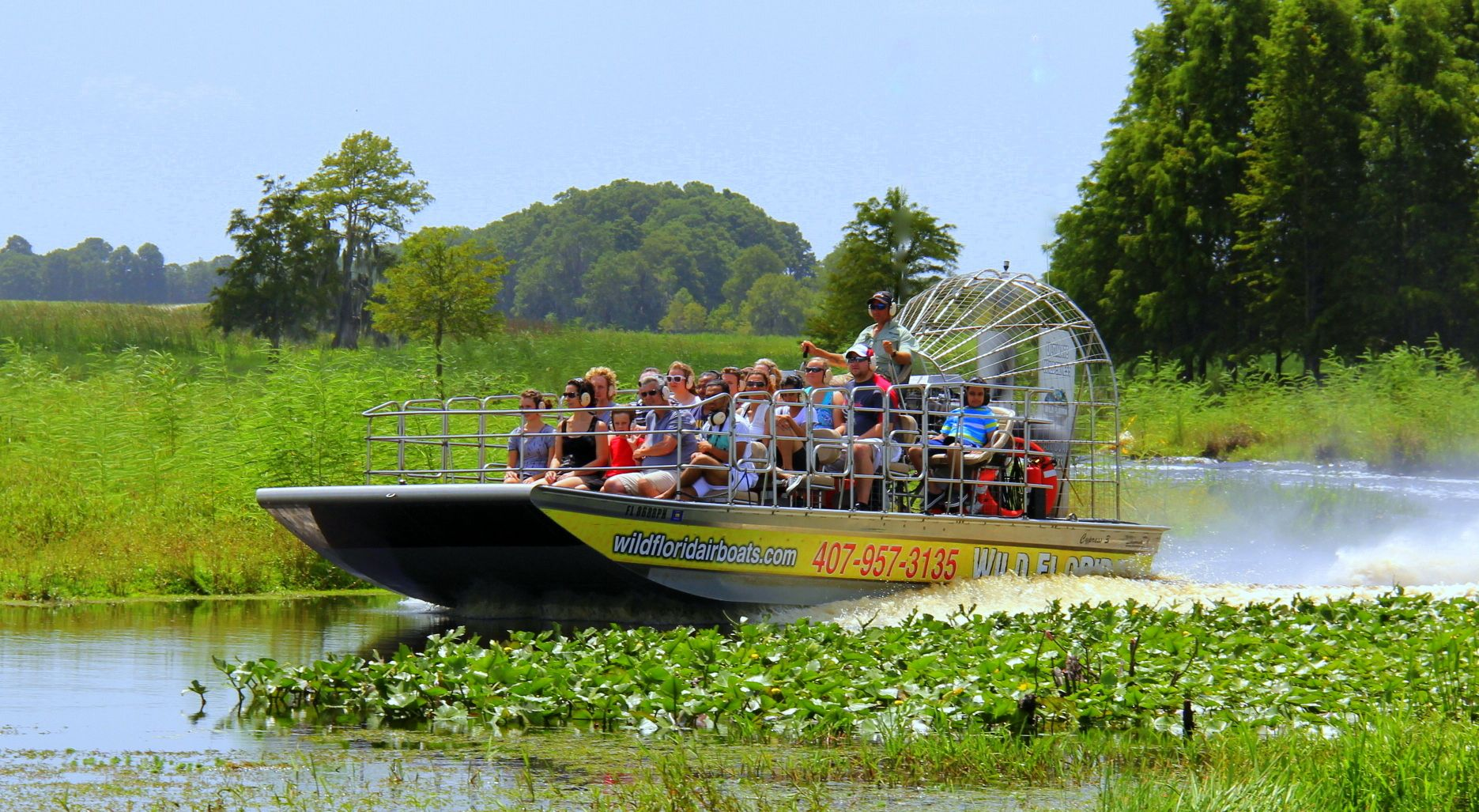 Boggy Creek Airboat Ride Orlando