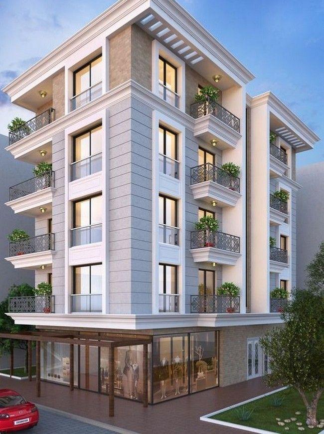 40 Amazing Modern Building Facade Apartment Architecture Modern Architecture Building Architecture