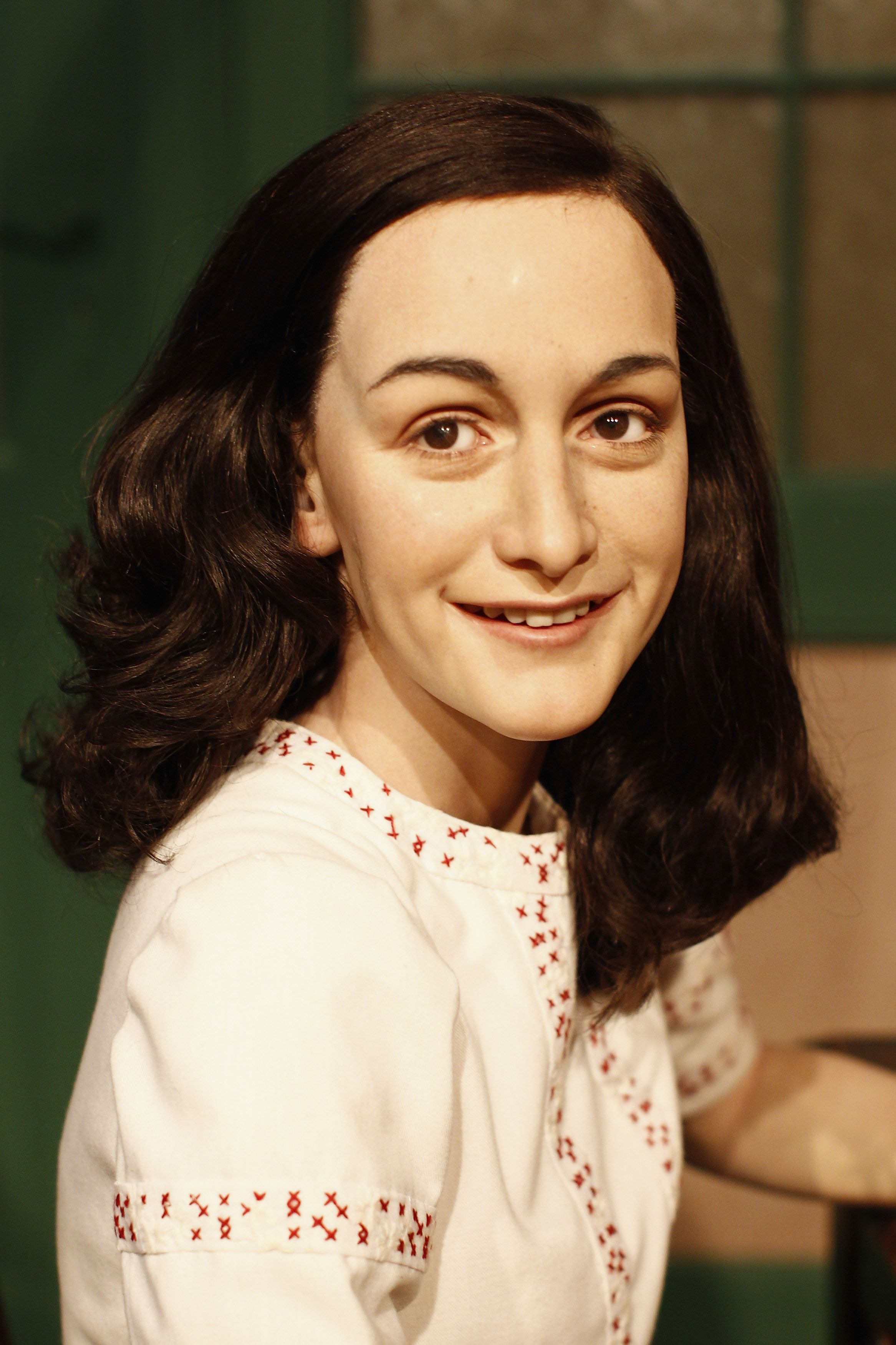 Annelies Marie Frank Wax Anne And