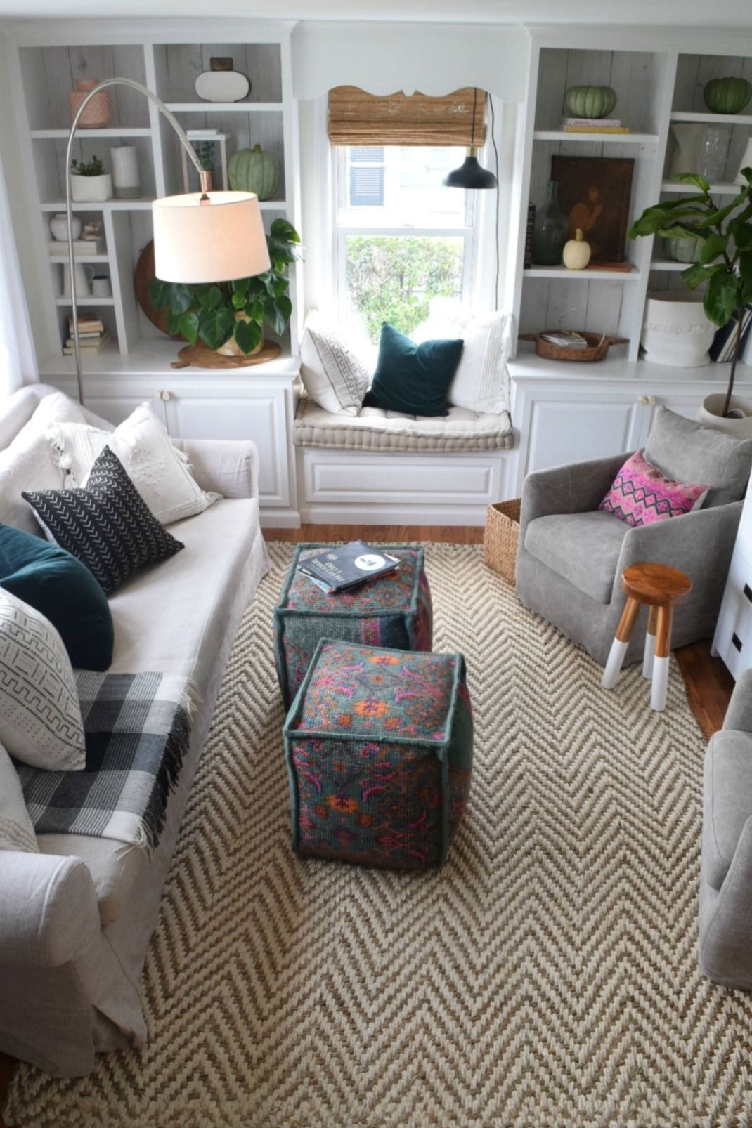 Tis Autumn Living Room Fall Decor Ideas: Fall Decor In Our Family Room- Seasons Of Home Series
