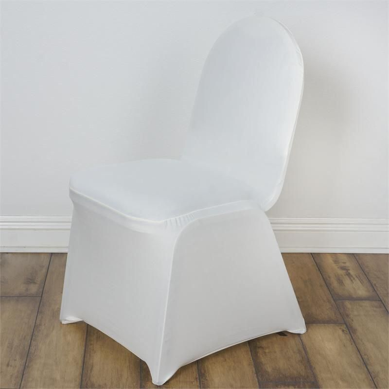 Banquet Chair Covers Wholesale Red Rocking Song Ivory Spandex Stretch Cover In 2018 Centerpieces Wedding Party Event