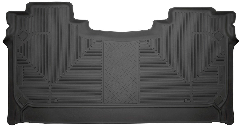 Husky Liners 14731 Black 2nd Seat Floor Liners Fits 2019