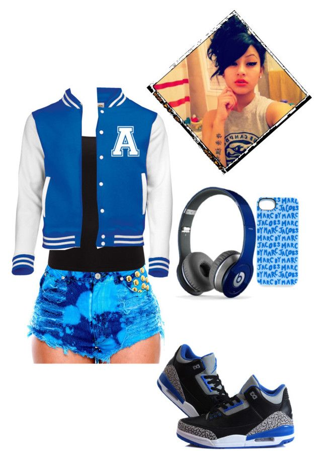 """""""Untitled #103"""" by msblackberrylilqueenbaddie ❤ liked on Polyvore featuring EAST, NIKE, Beats by Dr. Dre, Marc by Marc Jacobs, women's clothing, women, female, woman, misses and juniors"""