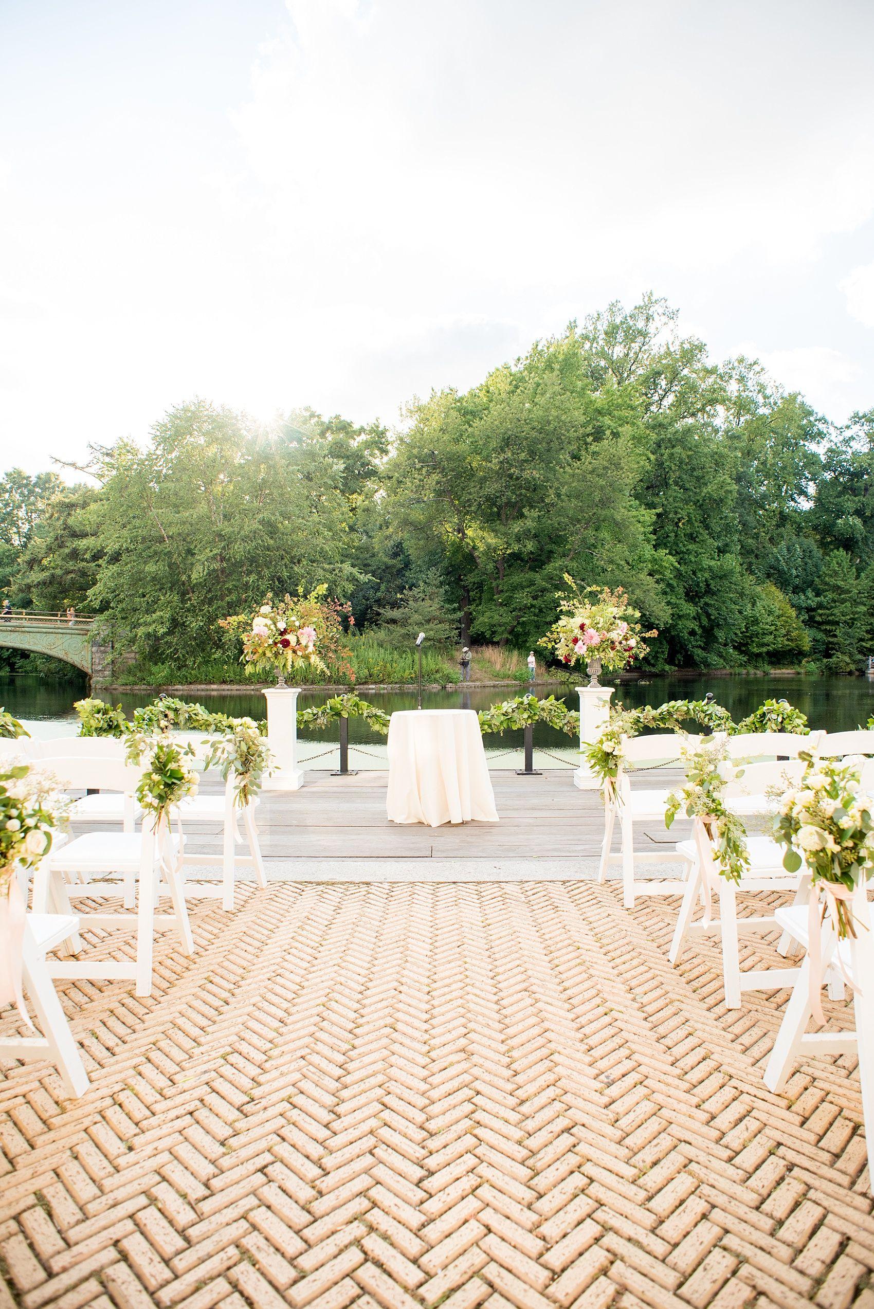 Prospect Park Brooklyn Boathouse Wedding Photos • Rachel
