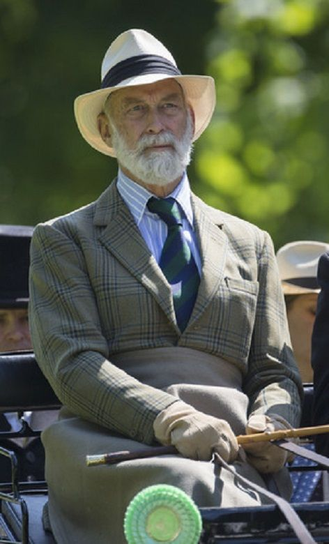 Prince Michael Of Kent Attends The Royal Windsor Horse Show At Home Park In