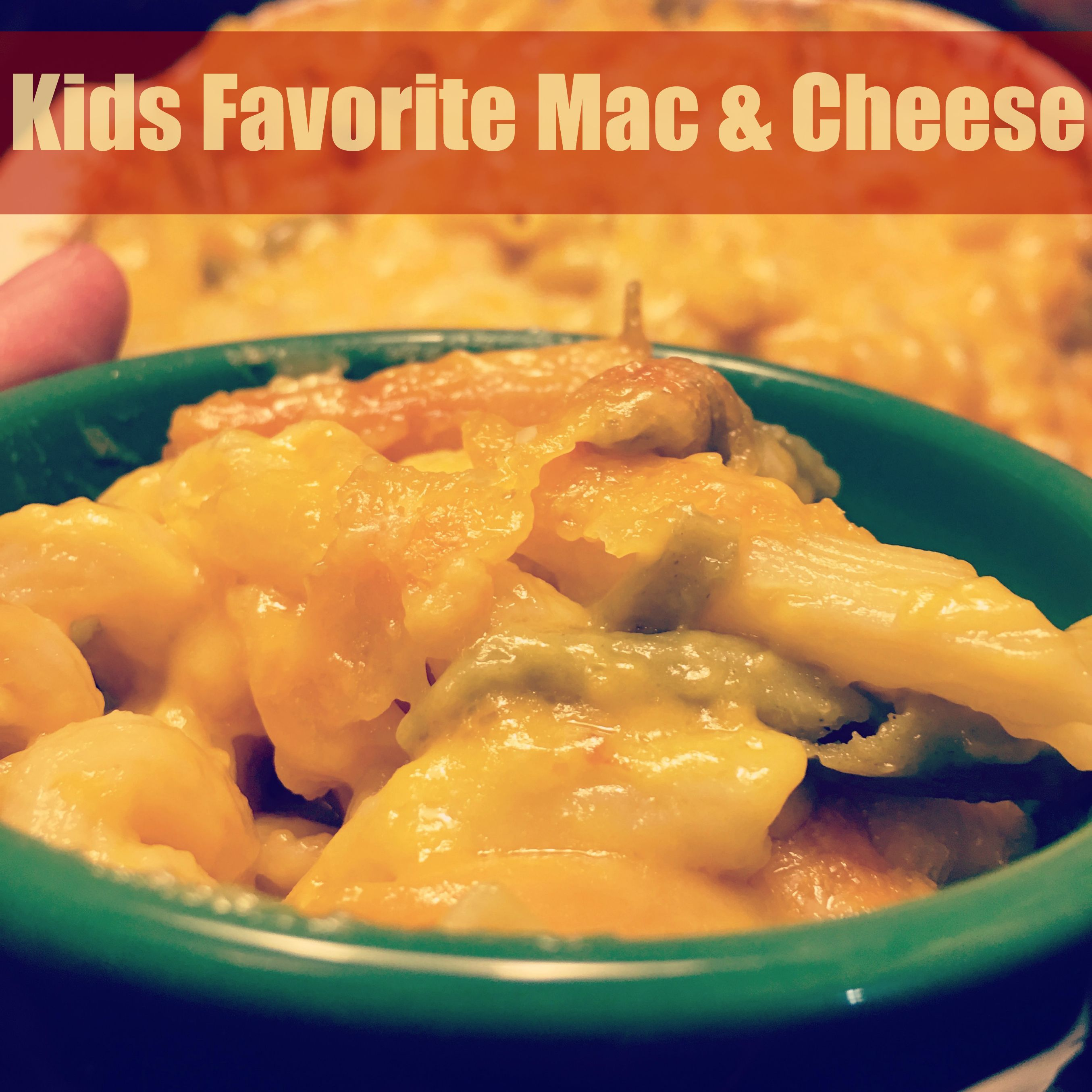 Kids Favorite Mac & Cheese ⋆ The Stuff of Success