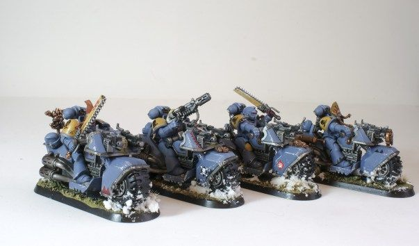 Grey Hunters Blood Claws Warhammer Marines SW 40K Space Wolves 5 Wolf Guard
