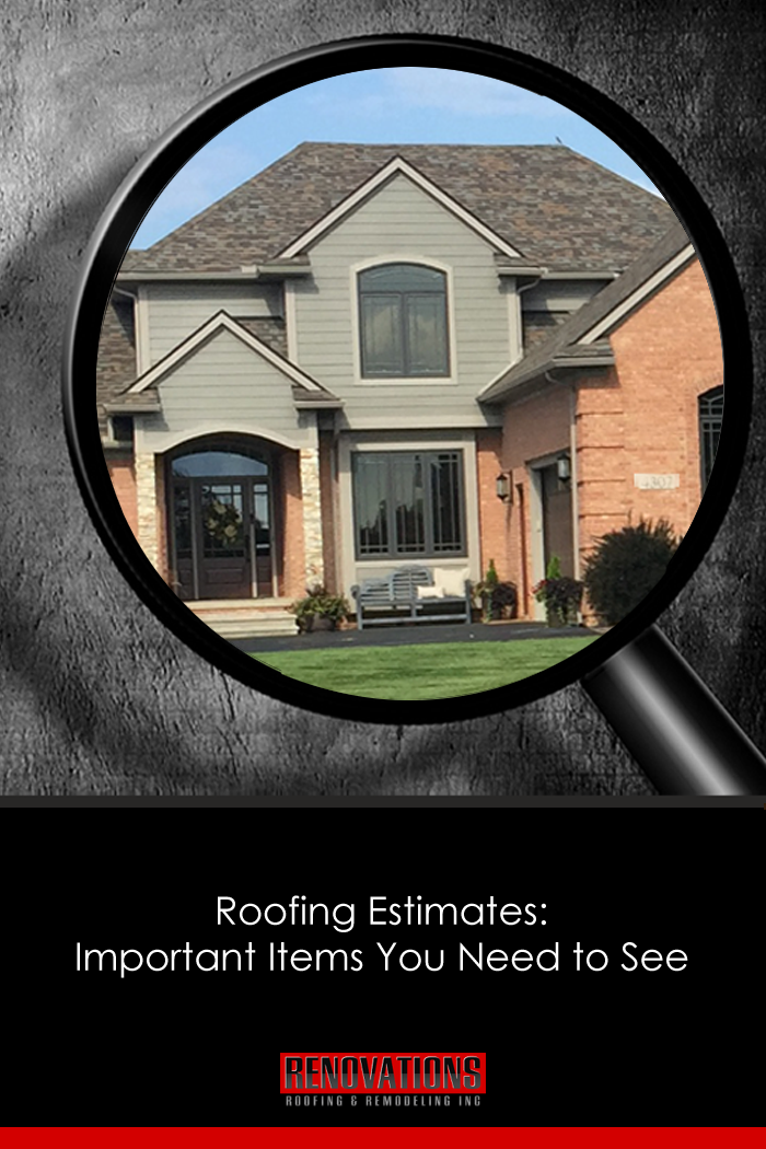 Roofing Estimates Important Items You Need To See  Residential