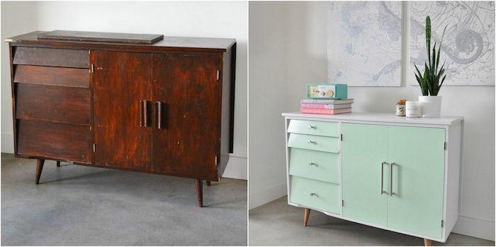 Meuble Relooké Avant Apres ▷ 1001 + idées comment peindre un meuble ancien | meubles