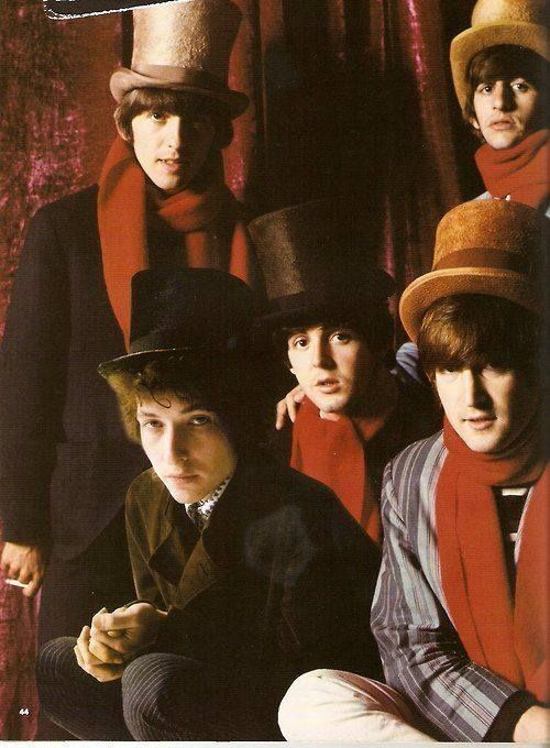 The Beatles Bob Dylan