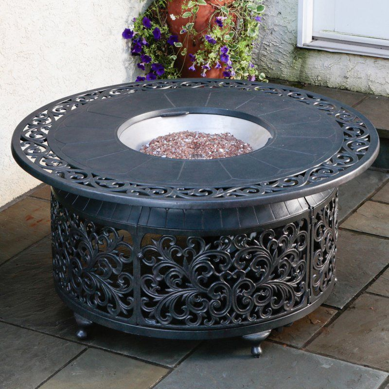 Bellagio Cast Aluminum Gas Fire Pit - 55-1306
