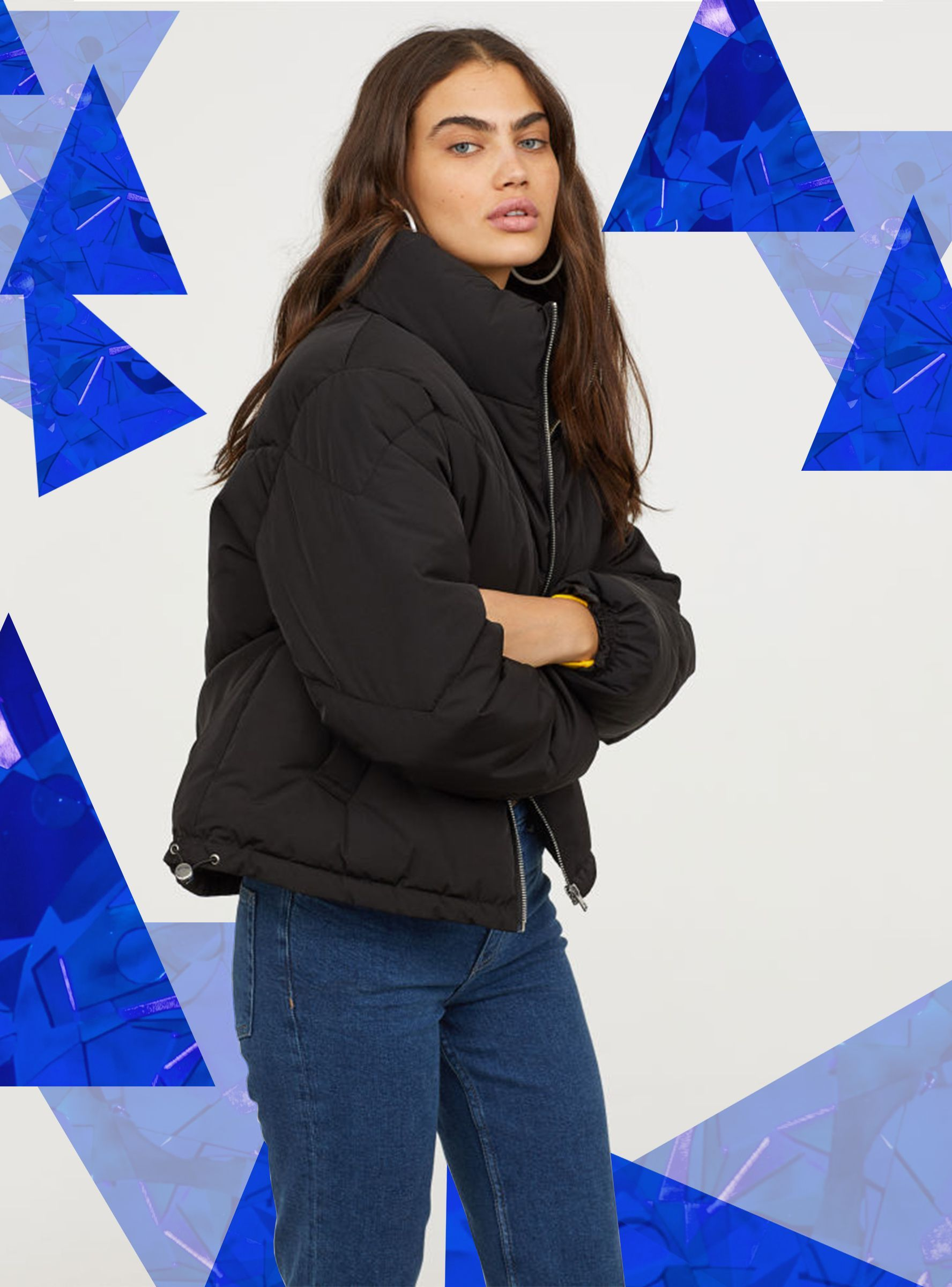 15 Chic Coats Made For Petites Refinery29uk Girls Bomber Jacket Fashion Women [ 2400 x 1776 Pixel ]