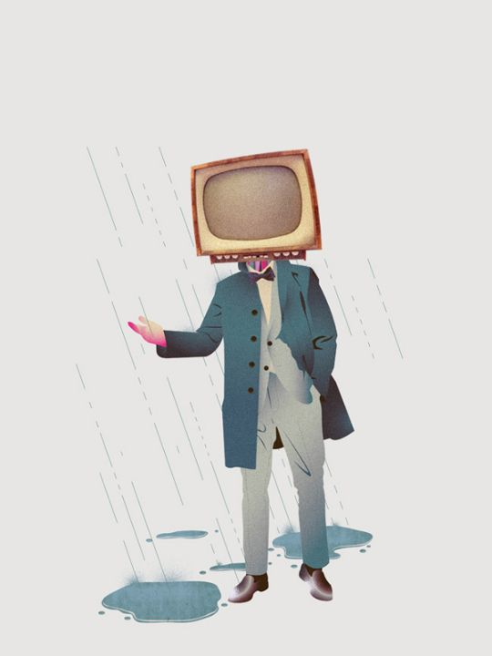 Illustrations by Tof Zapata / Life without TV / Kill your TV