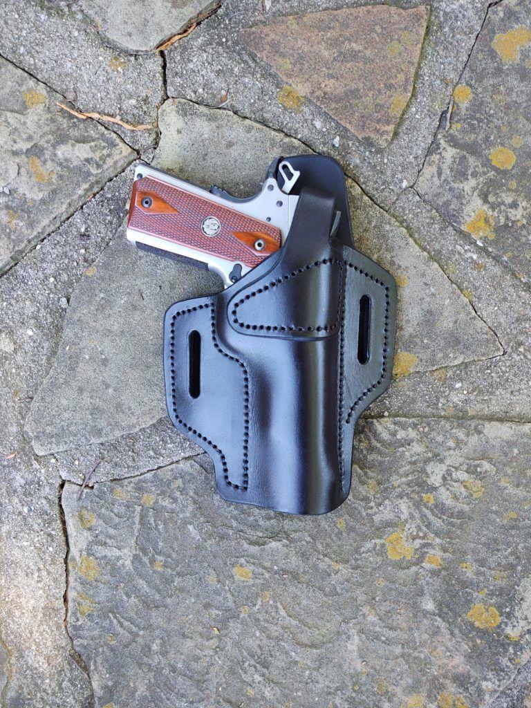 19115 owb tsnap custom leather holster separate