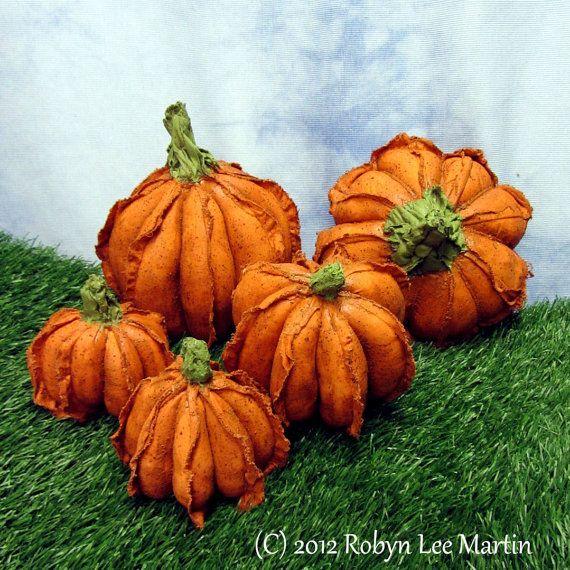 Pdf Pattern Primitive Pumpkins Sewing Pattern by MotherlodeToad, $8.50