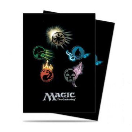 Ultra Pro Mtg Mana 4 Symbol Deck Protector Sleeves 80 by Ultra Products