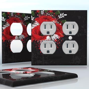 Diy Do It Yourself Home Decor Easy To Apply Wall Plate Wraps
