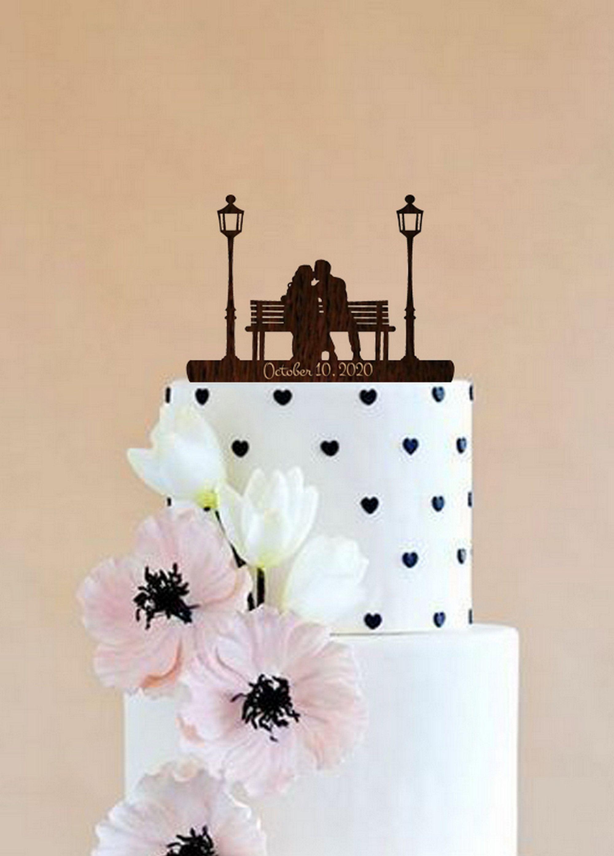 Pin On Wedding Cake Topper
