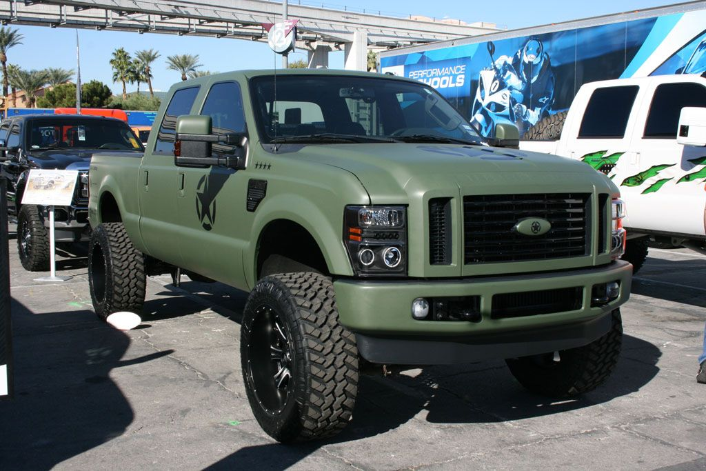 Military Super Duty F 250 Trucks Lifted Ford Trucks F250