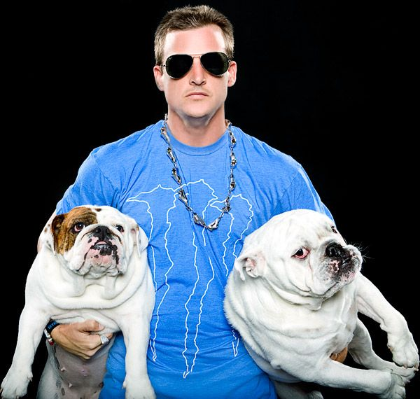 Rob Dyrdek Beefy And Meaty Rob With Beefy And Meaty Mtv Photo