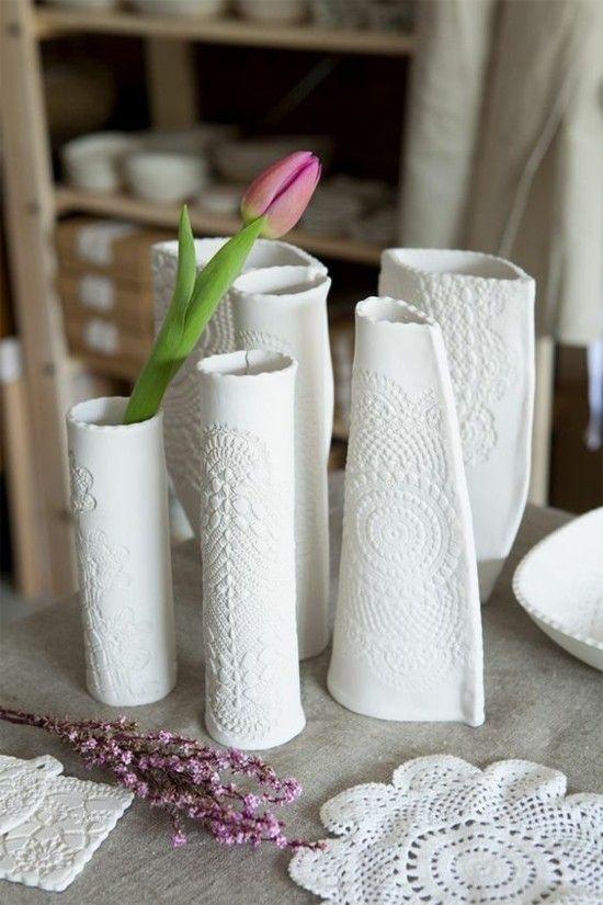Tischdeko selber machen zu Ostern - 70 Bastelideen für die besondere, persönliche Note #potteryclasses