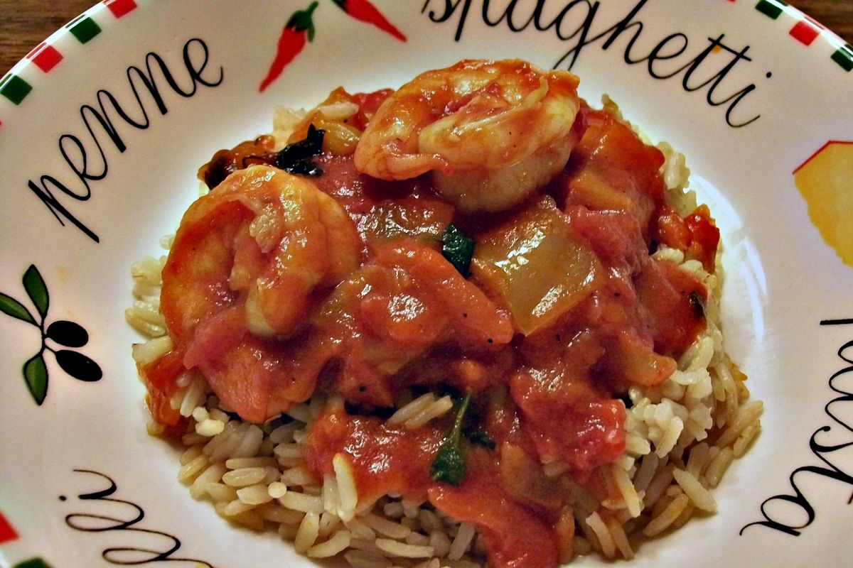 Made some Shrimp Creole earlier tonight...Have a great weekend everybody!