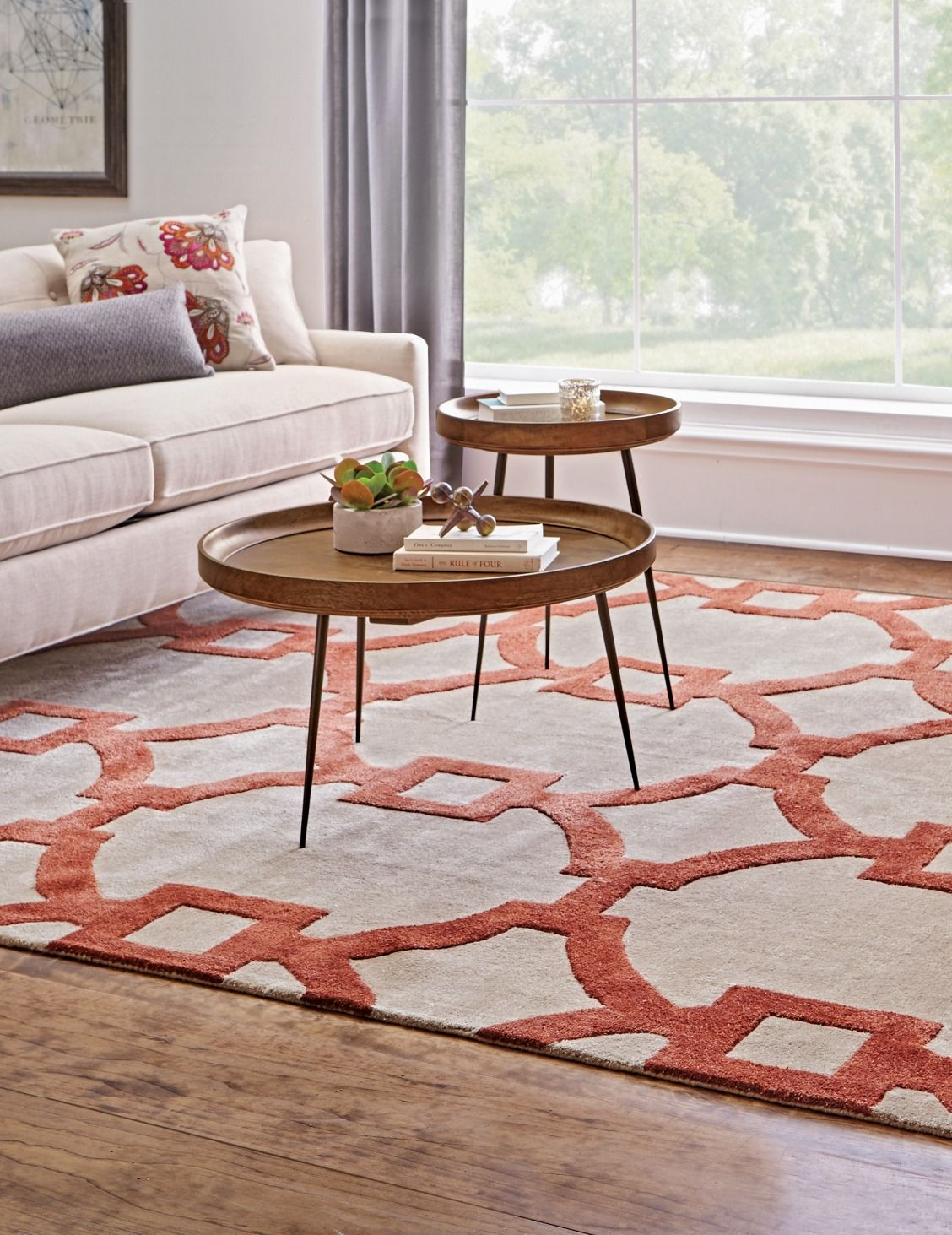 Make Your Living Room More Comfortable With Our Sawyer Area Rug