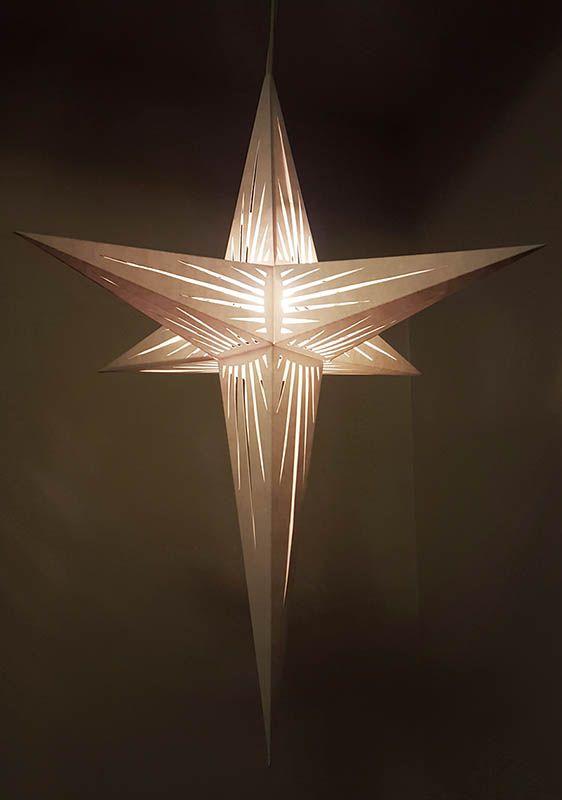 6 Point 3 D Paper Star Paper Stars 3d Paper Star Stars