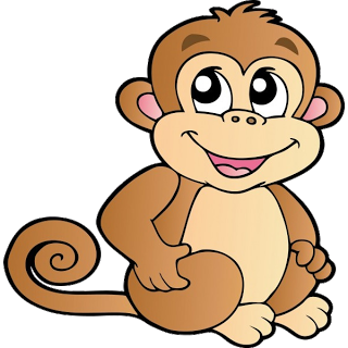 free monkey clip art images cute baby monkeys dey all axed for rh pinterest com clip art of monkey bars clip art of monkeys & belated birthday