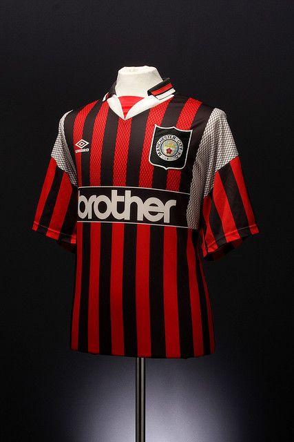 Manchester City Football Shirt (away, 1994-1996) | Classic ...