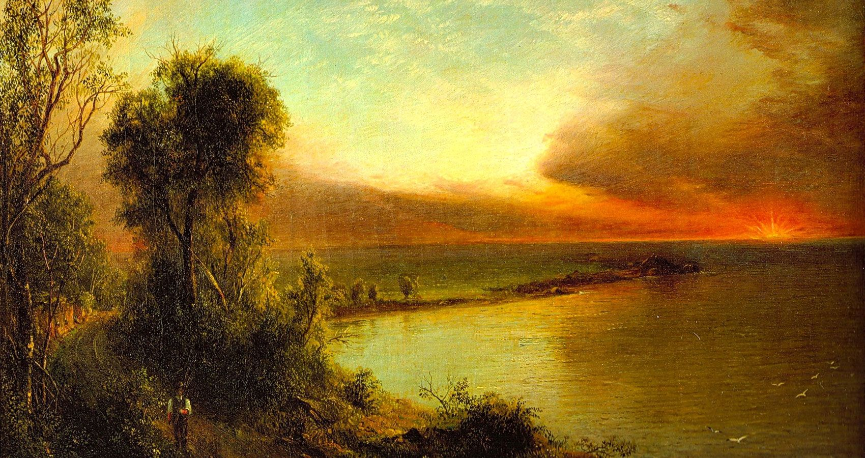 My Relented Soul Famous Landscape Paintings Frederic Church