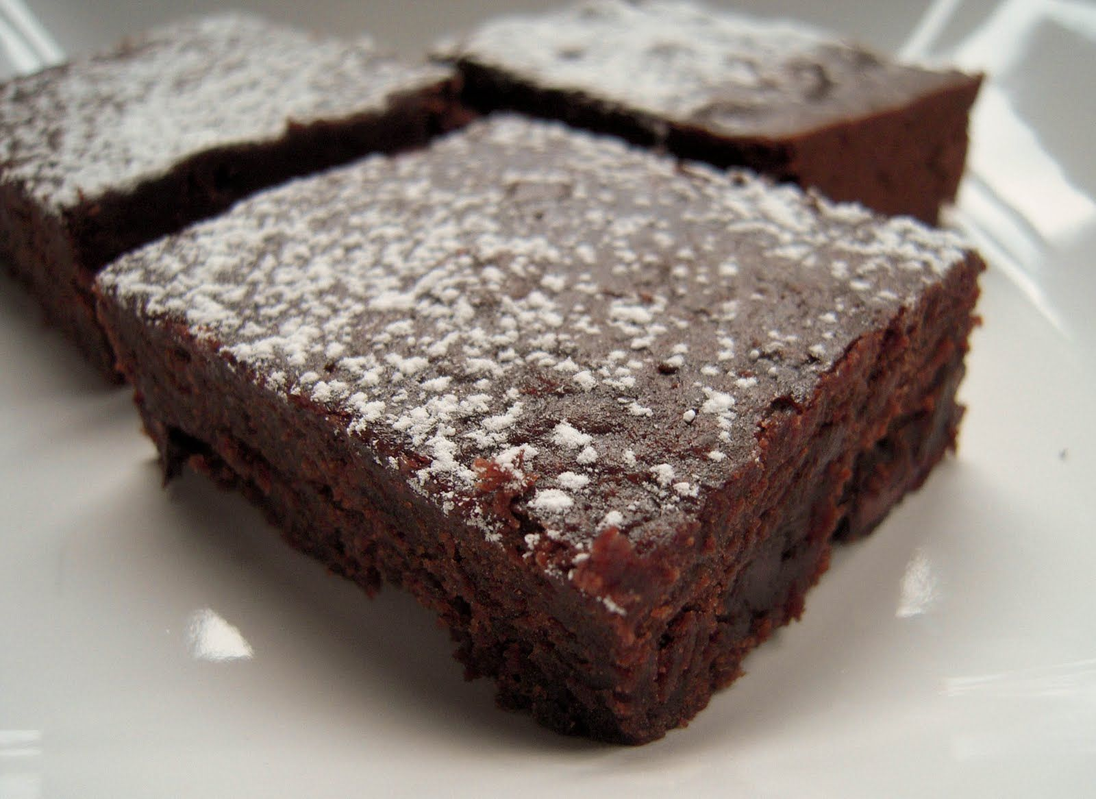 brownies with black beans instead of oil and eggs...made them ...very good. Didn't rinse the beans, used the liquid in the can of beans.
