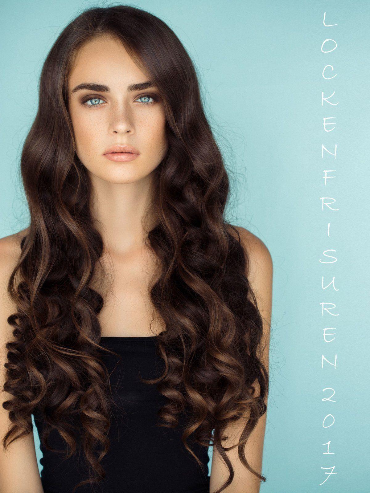 lockenfrisuren: die schönsten looks   frisur lange haare