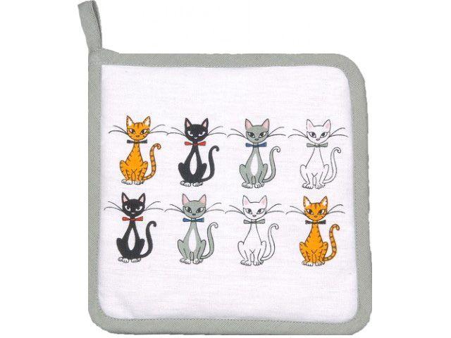 Manique motifs chat