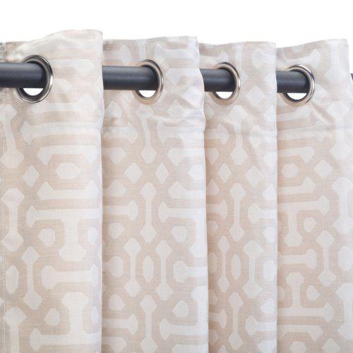 Pawleys Island Sunbrella Grommet Top Deluxe Outdoor Curtain